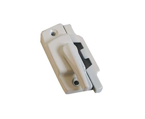 AOPANDA Sash Lock, Diecast Construction, White, Used on Vertical & Horizontal Sliding Windows