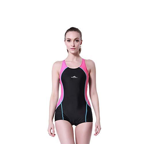 Tauchanzug Shorty Wetsuit One Piece Dive Skin UV-Schutz Rash Guard for Schnorchel (Color : Pink, Size : M)