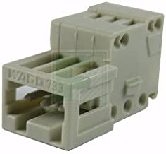 WAGO 733-203 3 Position 2.5 mm Pitch 28-20 AWG Cage Clamp Male Connector Terminal Block - 5 item(s)