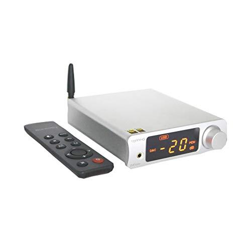 Topping DX3 PRO LDAC HiFi DAC Kopfhörerverstärker DSD512 32bit / 768kHz XMOS XU208 APTX USB Bluetooth Decoder (Silber)