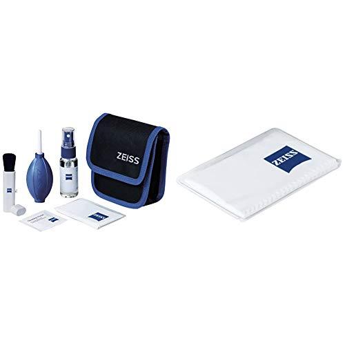 ZEISS Lens Cleaning Kit – Reinigungsset für Objektive, Filter, Brillengläser, Ferngläser und LCD-Displays & Mikrofasertuch – Mikrofasertuch für Objektive, Filter, Brillengläser, Ferngläser