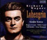 Wagner: Lohengrin [New York -- February 1, 1964: Konya, Crespin, Cassel, Rankin; Wiemann; Rosenstock, + Excerpts from Jan. 21, 1967 (Konya, Bjoner, Berry, Milnes, Macurdy, Bohm), February 10, 1968 (Konya, Arroyo, Cassel, Milnes, Macurdy, Bohm), and June 14, 1967 (Konya, Grummer, Rosenstock)