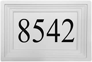 Personalized Address Plaque by ABC Address Blocks. 12