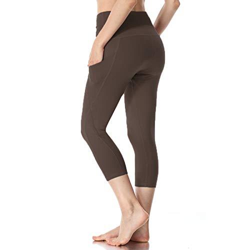 NIGHTMARE Leggings de Cintura Alta Leggings para Mujer Gimnasio de Cintura Alta Pantalones de Yoga de compresión Leggings Deportivos para Mujer Control de Barriga XL