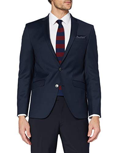 Daniel Hechter Herren Jacket NOS Shape Anzugjacke, Blau (Navy 680), 52