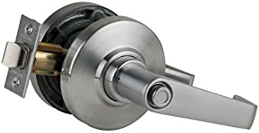 ✅Schlage Commercial AL44SAT626 AL Series Grade 2 Cylindrical Lock, Hospital Privacy Function, Saturn Lever Design, Satin Chrome Finish #Tools & Home Improvement Hardware