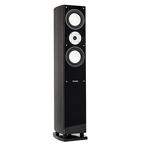 Best Price! Fluance XL7F High Performance Three-Way Floorstanding Loudspeakers (Dark Walnut Single)