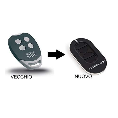 433.92 MHz Grigio Sice 4790610 Radiocomando Jerry