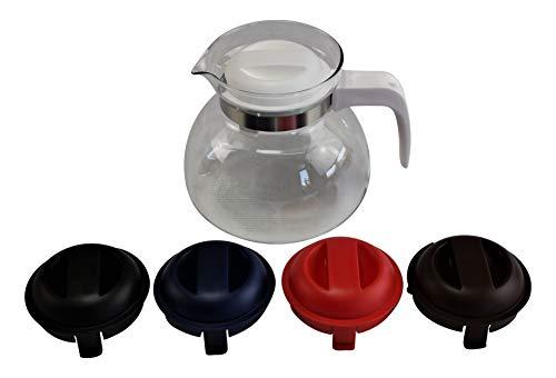 »Svatava« Glaskanne färbig sortiert, Inhalt: 1,50 Liter
