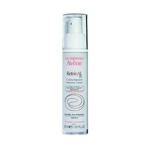 Eau Thermale Avene RetrinAL 0.1 Intensive Cream, Retinaldehyde, Reduce Signs of Aging, Brighten & Rejuvenate Skin, 1.01 oz. (0.1% Cream)