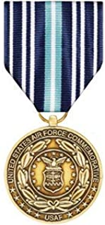 Medals of America Air Force Service Commemorative Medal Bronze