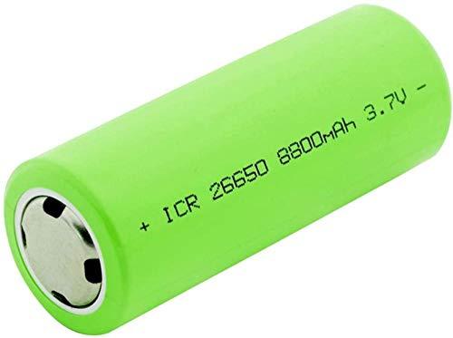 26650 batería de Litio 3,7 V 8800 mAh batería de Alto Rendimiento Adecuado para Linterna DVD videocámara Juguetes 1 Pieza-4 Piezas