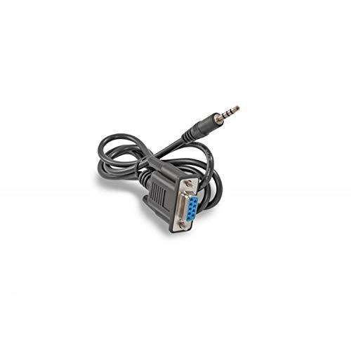 TV Tech Klinke Null Modemkabel Rs232 auf 3,5 mm, Länge: 90 cm, Länge 17 mm, kompatibel mit Amiko, Sab, Ferguson und Edision Boxen und vielen modernen Set-Top-Boxen