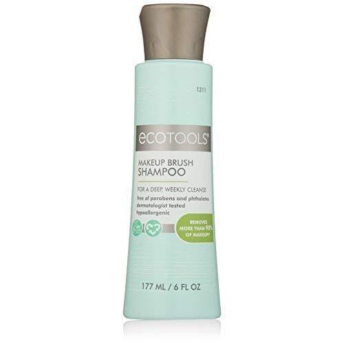 EcoTools® - Champú para limpieza de brochas de maquillaje (gel limpiador), 177 ml