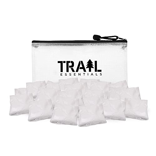 TRAIL ESSENTIALS Porta-Pods, 25 Pack: Toilet Waste Gel Powder with Odor Control in Dissolvable Pods (25 Pods)