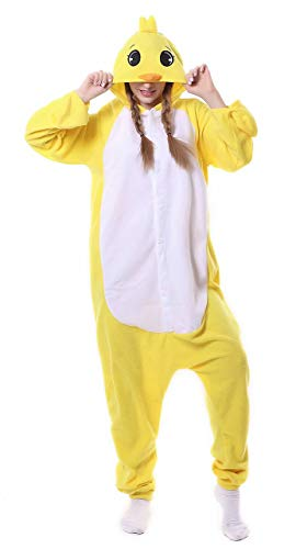 Dorliki Pijama Onesie de forro polar para adultos, disfraz de animal, Halloween, Navidad, cosplay