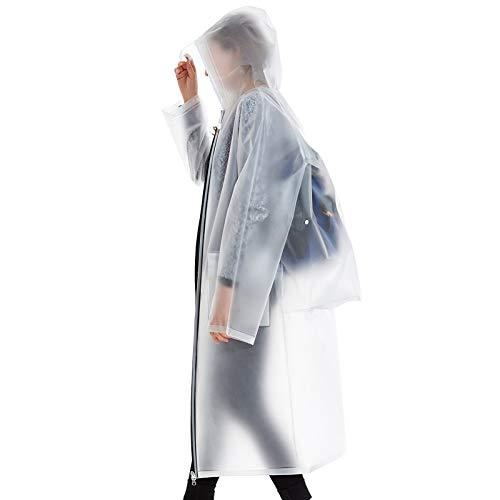 ZQYYD LSY@ Adult Backpack Regenjas Vrouw Lange Sectie Outdoor Wandelen Reizen Man Waterdichte slijtage Buiten Grote Maat Poncho Geel