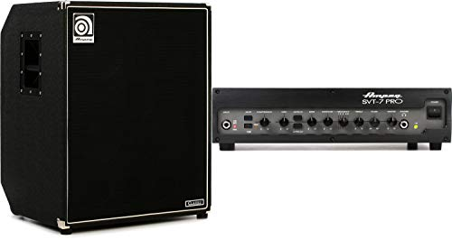 Amazing Deal Ampeg SVT-410HLF 4x10 500-Watt Bass Cabinet with Horn + Ampeg SVT-7Pro 1000-Watt Tube ...