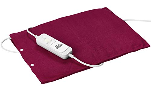 Solis Thermopad 430 Heizkissen, 3 Temperatureinstellungen, mit Temperatureinstellungsanzeige, Abnehmbarer und abwaschbarer Schutzhülle, automatisches Ausschalten nach 90 Minuten, Überhitzungsschutz