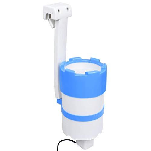 vidaXL Pool Einhängeskimmer und Pumpe mit Adapter 16 cm Kunststoff