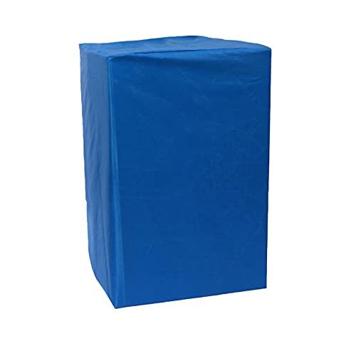 MKWEY 420D Oxford Impermeable Anti-UV Oxford Cubierta De Muebles 123x123x74cm, Funda para Muebles De Jardín, Protección Exterior, Funda Protectora Anti-UV