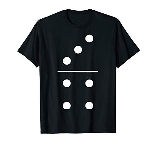 Domino Halloween-Kostüm Gruppe T-Shirt 3–4Spielsteine Tee