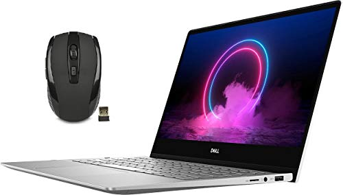 Dell Inspiron 7000 13.3' FHD 2-in-1 Touchscreen Laptop Bundle Woov Mouse | 10th Gen Intel Core i5-10210U | 8GB RAM+32GB Optane | 512GB PCIe SSD | Backlit Keyboard | Fingerprint Reader | Windows 10