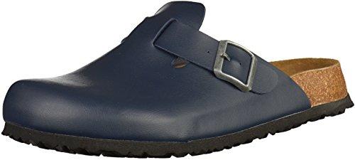 JOE N JOYCE Amsterdam Clogs für Normale Fussbreiten, Größe: 41 EU, Farbe: Blau, Material: SynSoft, Hausschuhe, Pantoffeln, geschlossene Sandalen