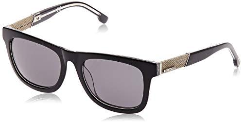 Diesel Sonnenbrille DL0050 5203A Gafas de sol, Negro (Schwarz), 52 para Mujer