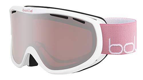 Bolle Sierra White Pink Shiny/Vermillon Gun Cat.2 | Small-Medium - Snow Goggles Feminine-Adult