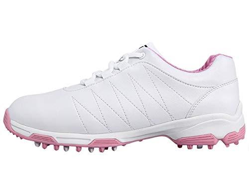 PGM Anti-Rutsch wasserdichte Golfschuhe mit Spikes für Damen