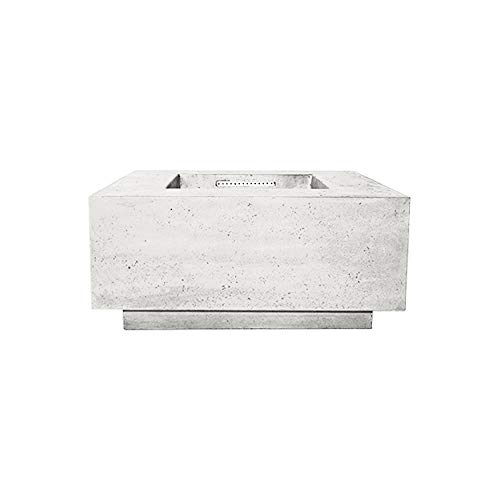 Affordable Prism Hardscapes Tavola 2 Electronic Ignition Concrete Gas Fire Pit (PH-406-5LP-WBECS), P...