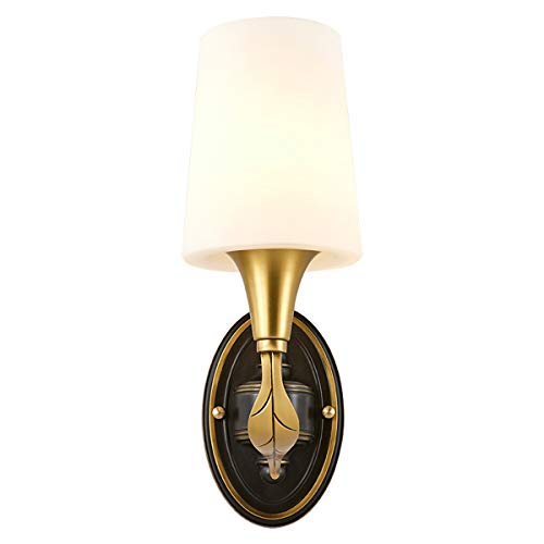 VOMI Apliques de Pared Moderno Interior Lámpara de Pared Latón E27 Con...