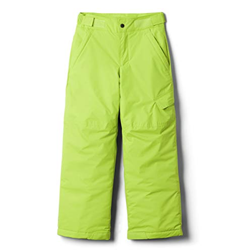 Columbia Baby Boys' Toddler Ice Slope II Pant, Bright Chartreuse, 2T