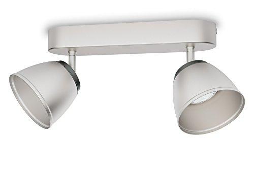 Philips 533521716 County Luminaire d'Intérieur Spot LED Métal Chrome 4 W