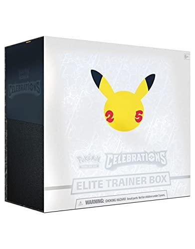 Pokemon 25th Anniversary Celebrations Elite Trainer Box