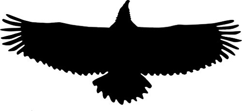 Pack of 3 Eagle Spread Wings Stencils Made from 4 Ply Mat Board 11x14, 8x10, 5x7