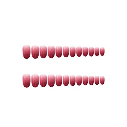 Uñas Postizas Rojas marca Lurrose
