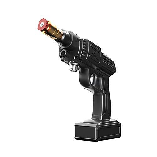 HEWXWX Pistola Ad Acqua Ad Alta Pressione 2 in 1, Lavatrice Wireless Portatile da 200 W con Linea di Ingresso da 5 M, Cavo di Alimentazione, Batteria al Litio, per Lavaggio Auto da Giardino