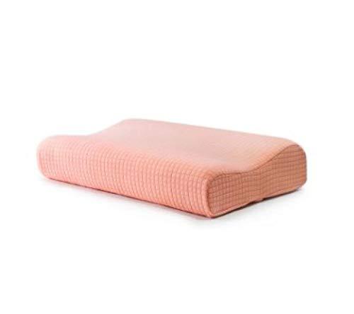Almohada de Gel Fresca, Almohada para el Cuello con Memoria en Forma de Onda, Almohada ortopédica Ajustable en Polvo_60 * 40 * 12