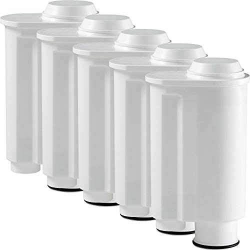 5-pack scanpart waterfilter geschikt voor apparaten van Philips, Saeco, Lavazza, Gaggia, zoals originele Saeco CA6702/00