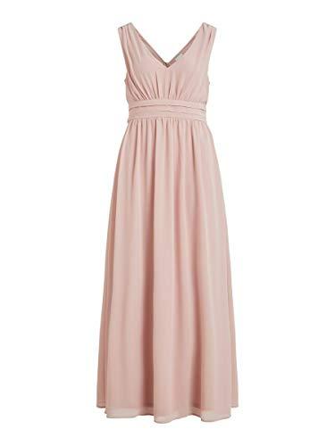Vila Clothes Damen VIMILINA Long Dress/SU - NOOS Kleid, Pale Mauve, 34