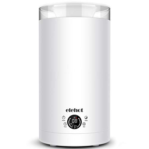 ELEHOT 3L Humidifier Ultrasonic Oils Diffuser Cool Mist 24 Working Hours Top...