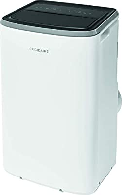 Frigidaire FHPC082AB1 Portable Air Conditioner with Remote Control for Rooms, White (Renewed)
