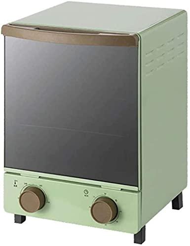 12 litri retrò mini mini verticale forno luce quarzo al quarzo tubo riscaldamento tubo manopola specchio porta in vetro microonde combinati