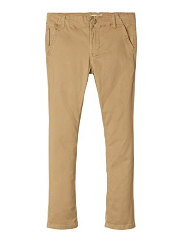 NAME IT Boy Chino Slim Fit Baumwoll 134Kelp