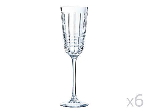 Cristal d'Arques AVE3618021 Rendez Vous Flûte, 170 milliliters