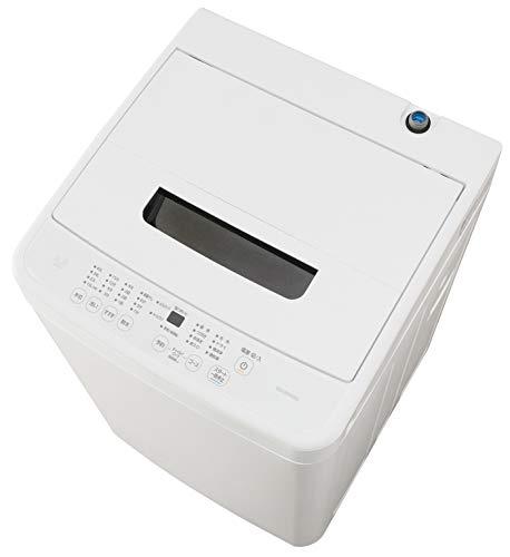 アイリスオーヤマ 洗濯機 4.5kg 全自動 風乾燥 お急ぎコース ステンレス槽 ホワイト IAW-T451