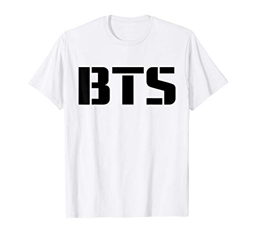 BTS Official Bangtan Boys Merchandise BTS07 Camiseta