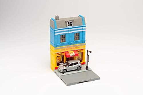 Herpa 800020 Fahrzeug City: Spielwarenladen mit BMW zum Basteln, Spielen und als Geschenk, Mehrfarbig